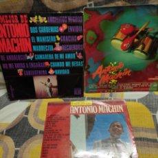 Discos de vinilo: 4 DISCOS VINILO, LP, ANTONIO MACHIN. Lote 253357005