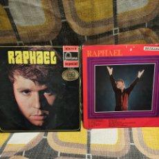 Disques de vinyle: 2DISCOS VINILO LP RAPHAEL. Lote 253357350
