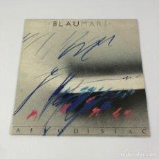 Discos de vinilo: LP - BLAUMARÍ - AFRODISÍAC (PICAP, 1987). Lote 253362450