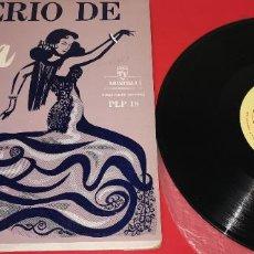 Discos de vinilo: IMPERIO DE TRIANA ORQUESTA DEL TEATRO ALBÉNIZ CONDUCTED BY DANIEL MONTORIO VINILO COMO NUEVO. Lote 253416420
