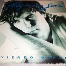 Disques de vinyle: ALEJANDRO SANZ-VIVIENDO DEPRISA-CONTIENE ENCARTE. Lote 253447610