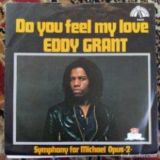 """Discos de vinilo: EDDY GRANT - DO YOU FEEL MY LOVE (7"""", SINGLE) (1980/NL). Lote 253467945"""