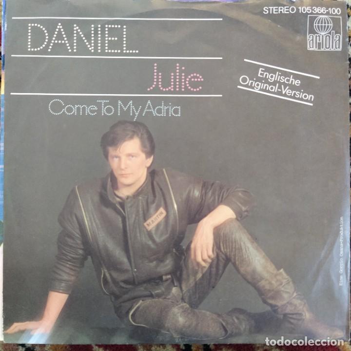 """DANIEL - JULIE (7"""", SINGLE) (1983/NL) (Música - Discos de Vinilo - Singles - Pop - Rock Internacional de los 80)"""