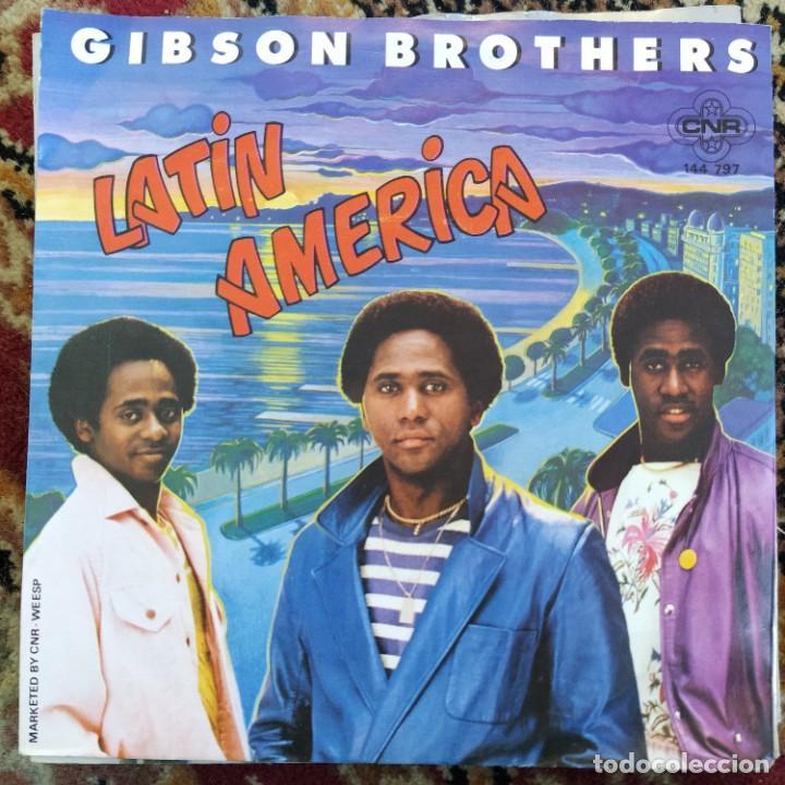 "GIBSON BROTHERS - LATIN AMERICA (7"", SINGLE) (1980/NL) (Música - Discos - Singles Vinilo - Disco y Dance)"
