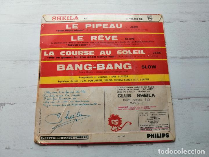 Discos de vinilo: Sheila (5) – Bang-Bang + 3 EP FRANCIA 1966 VG/VG - Foto 2 - 253471320