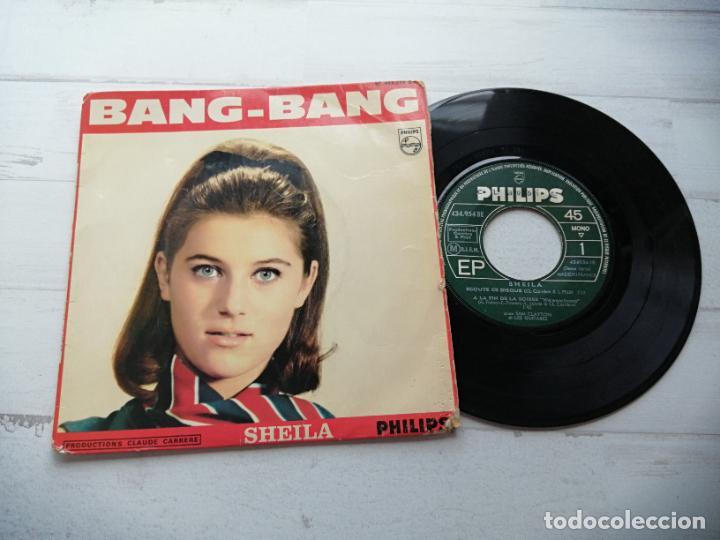 SHEILA (5) – BANG-BANG + 3 EP FRANCIA 1966 VG/VG (Música - Discos de Vinilo - EPs - Canción Francesa e Italiana)