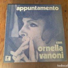 Disques de vinyle: ORNELLA VANONI – APPUNTAMENTO CON ORNELLA VANONI. Lote 253471325