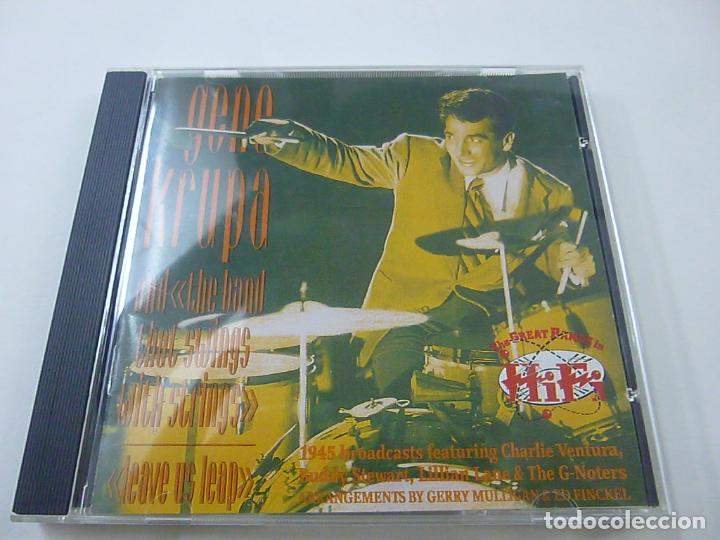 GENE KRUPA AND HIS ORCHESTRA - LEAVE US LEAP - CD - C 5 LEAVE US (Música - Discos - LP Vinilo - Jazz, Jazz-Rock, Blues y R&B)