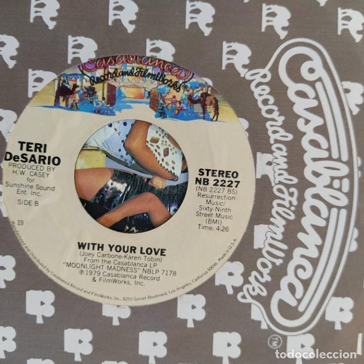 "Discos de vinilo: Teri DeSario With K.C. - Yes, Im Ready (7"", Single) (1979/USA) - Foto 2 - 253471690"