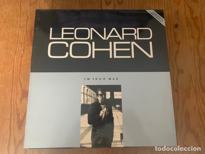 LEONARD COHEN – I'M YOUR MAN (1988 - LP) (Música - Discos - LP Vinilo - Pop - Rock - New Wave Internacional de los 80)