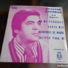 Discos de vinilo: ANTONIO LATORRE Y SU ORQUESTA, EP, NO ME PERDONES + 3, AÑO 1975 PROMO. Lote 253478510