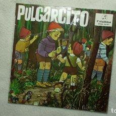 Discos de vinilo: PULGARCITO 1964. Lote 253479540