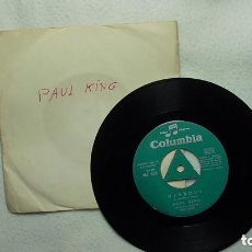 Discos de vinilo: PAUL KING - MUESTRA INVENDIBLE -YA NADA ES IGUAL -MABROUK 1.967. Lote 253480965