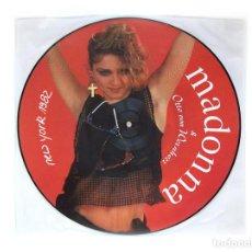 Discos de vinilo: MADONNA - NEW YORK 1982 - WITH OTTO VON WERNHERR - PICTURE VINYL. Lote 253486700