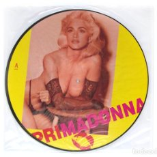Discos de vinilo: MADONNA - ''PRIMADONNA'' ( ENTREVISTA JUNIO 1991 ) - PICTURE VINYL. Lote 253487000