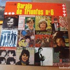 Discos de vinilo: BARAJA DE TRIUNFOS Nº 6 LP RCA VICTOR 1966 RECOPILATORIO CHEYENES MATEMATICOS ASTRONAUTS.... Lote 253487935