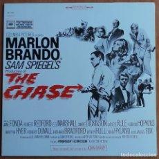 Discos de vinilo: THE CHASE (LA PERSECUCION) -SOUNDTRACK LP 1986 JOHN BARRY EDICION ESPAÑOLA - MARLON BRANDO , JANE FO. Lote 253508795
