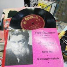 Discos de vinilo: FRANK CHACKSFIELD EP EL TEMA DE JERRY DE CANDILEJAS + 2. Lote 253524535