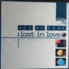 "Disques de vinyle: 12"" ACT OF FEAR - LOST IN LOVE - CONTAINER CR031 - GERMANY PRESS - MAXI (EX+/EX+). Lote 253527835"