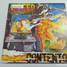 Discos de vinilo: SPEED/CONTENTO/SINGLE PUNK.. Lote 253536115
