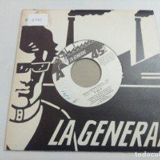 Discos de vinilo: TDK-T DE K/BOCA CERRADA-TE QUIERO/SINGLE PUNK.. Lote 253536915
