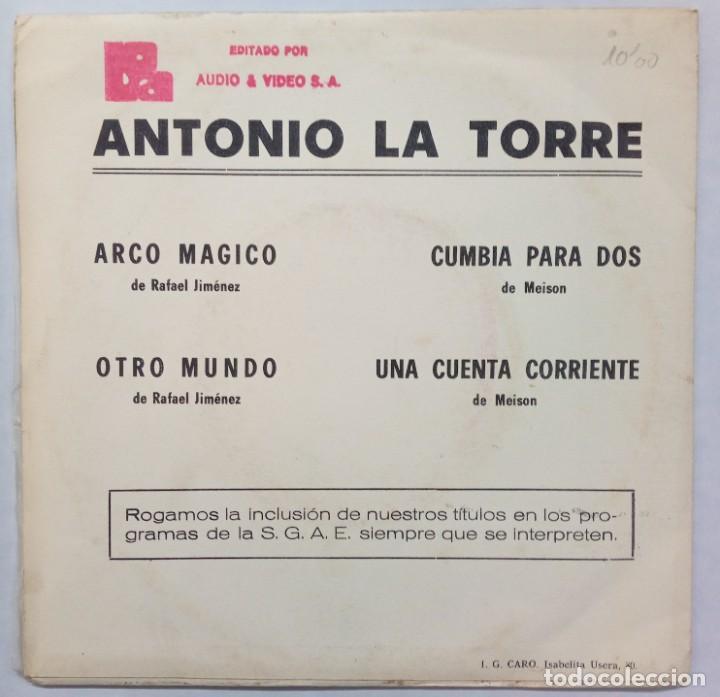 Discos de vinilo: ANTONIO LATORRE -ARCO MÁGICO -OTRO MUNDO -CUMBIA PARA DOS -UNA CUENTA CORRIENTE - Foto 2 - 253542385