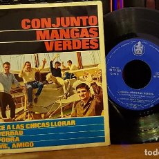 Discos de vinilo: CONJUNTO MANGAS VERDES - LO QUE HACE A LAS CHICAS LLORAR. Lote 253547185