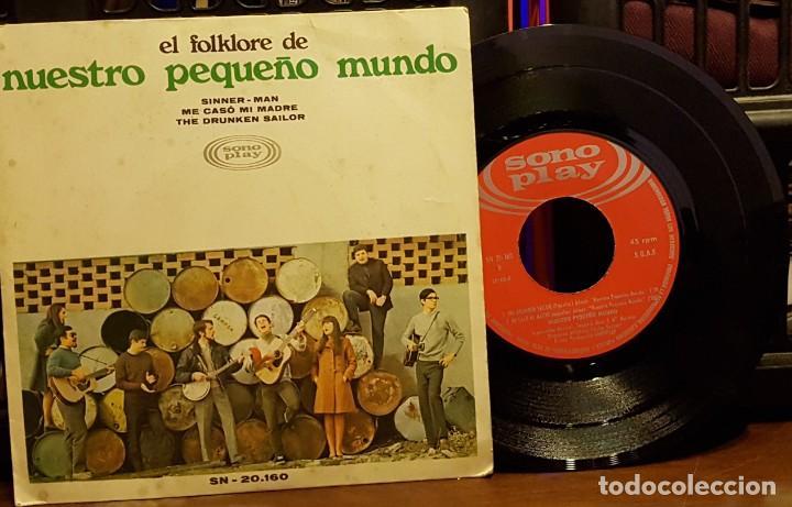 EL FOLKLORFE DE NUESTRO PEQUEÑO MUNDO (Música - Discos de Vinilo - EPs - Country y Folk)