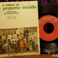 Discos de vinilo: EL FOLKLORFE DE NUESTRO PEQUEÑO MUNDO. Lote 253547660