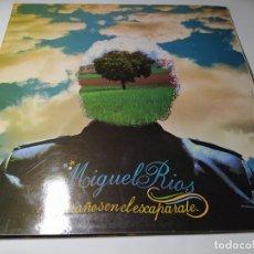 Disques de vinyle: LP - MIGUEL RIOS – EXTRAÑOS EN EL ESCAPARATE - 23 85 178 ( VG+ / VG+ ) SPAIN 1981. Lote 253548960