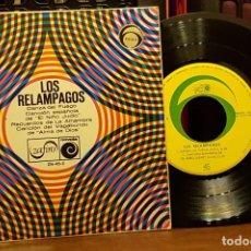 Discos de vinilo: LOS RELAMPAGOS - DANZA DEL FUEGO. Lote 253553265