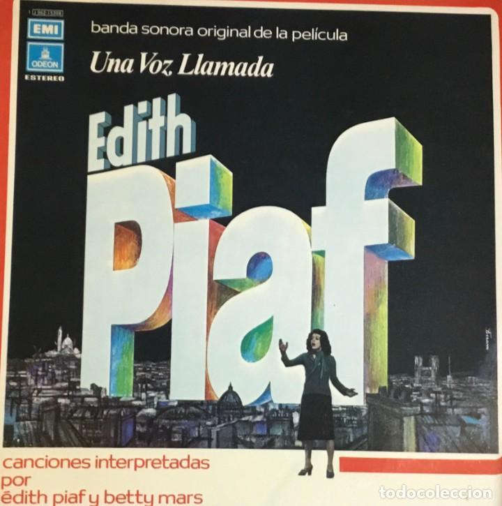 EDITH PIAF - UNA VOZ LLAMADA (Música - Discos - LP Vinilo - Bandas Sonoras y Música de Actores )