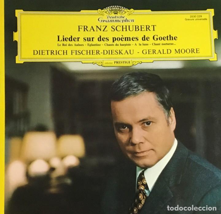 FRANZ SCHUBERT - LIEDER SUR DES POEMES DE GOETHE (Música - Discos - LP Vinilo - Clásica, Ópera, Zarzuela y Marchas)