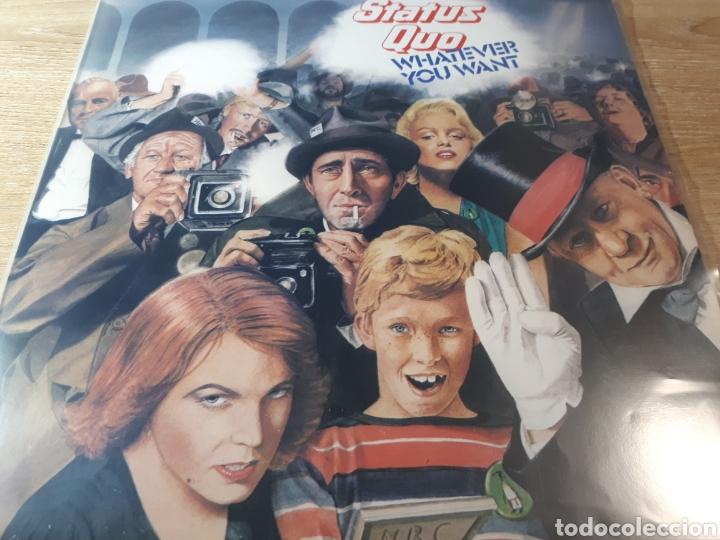 STATUS QUO WHATEVER YOU WANT (Música - Discos - LP Vinilo - Pop - Rock - Internacional de los 70)