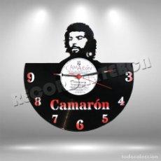 Discos de vinilo: RELOJ DE DISCO LP DE CAMARON DE LA ISLA. Lote 253563720
