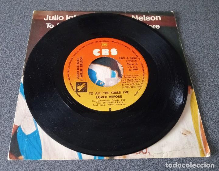 Discos de vinilo: Vinilo Ep Julio Iglesias & Willie Nelson - Foto 2 - 253567405