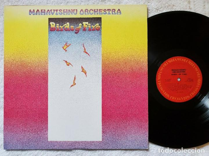 JOHN MCLAUGHLIN, MAHAVISHNU ORCHESTRA - BIRDS OF FIRE 1972 !! 1ª ORG EDT USA, TODO IMPECABLE (Música - Discos - LP Vinilo - Jazz, Jazz-Rock, Blues y R&B)