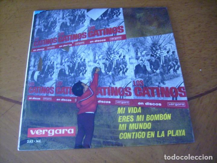 EP : LOS CATINOS / MI VIDA + 3 EX (Música - Discos de Vinilo - EPs - Grupos Españoles 50 y 60)