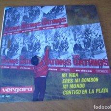 Discos de vinilo: EP : LOS CATINOS / MI VIDA + 3 EX. Lote 253569790