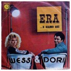 """Discos de vinilo: ITALIA 75. """"ERA"""" - WES & DORI GHEZZI. Lote 253573735"""