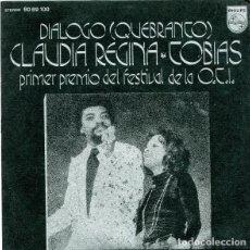 """Discos de vinilo: """"QUEBRANTO"""" - CLAUDIA REGINA & TOBÍAS. Lote 253574160"""