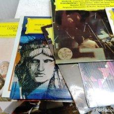 Discos de vinilo: 12 LP´S DE MUSICA CLASICA ( DEUTSCHE GRAMMOPHON ) DVORAK, BRAHMS, MOZART,J. RODRIGO, BARTOK, BERLIOZ. Lote 253577665