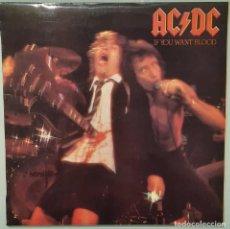 Disques de vinyle: LP AC/DC IF YOU WANT BLOOD. Lote 253578970