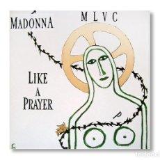 Discos de vinilo: MADONNA - MAXI SINGLE - LIKE A PRAYER - 1989 - SIRE RECORDS. Lote 253599630