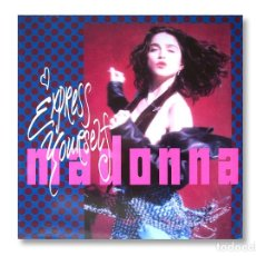 Discos de vinilo: MADONNA - MAXI SINGLE - EXPRESS YOURSELF - 1989 - SIRE RECORDS. Lote 253599700