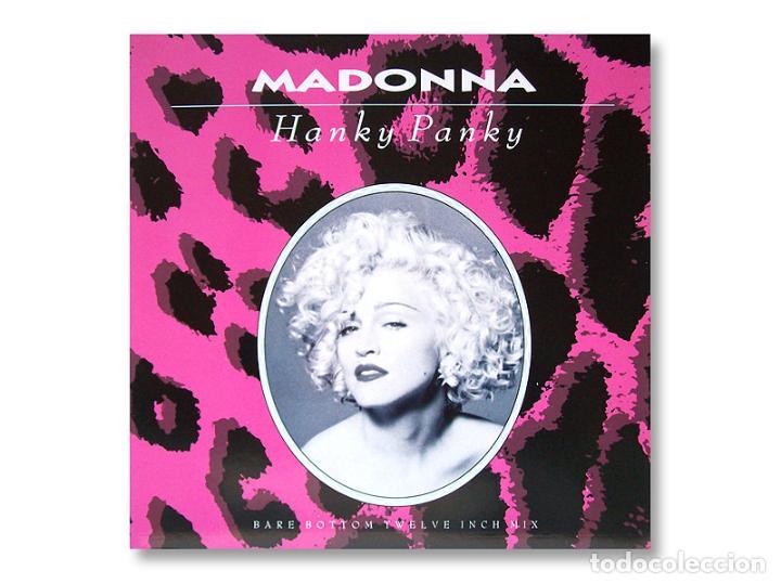 MADONNA - MAXI SINGLE - HANKY PANKY - 1990 - SIRE RECORDS (Música - Discos de Vinilo - Maxi Singles - Pop - Rock Internacional de los 90 a la actualidad)