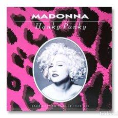 Discos de vinilo: MADONNA - MAXI SINGLE - HANKY PANKY - 1990 - SIRE RECORDS. Lote 253599835