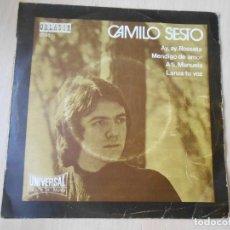 Discos de vinilo: CAMILO SESTO, EP, AY, AY, ROSSETA + 3, AÑO 1971. Lote 253606480