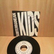 Discos de vinilo: SUBTERRANEAN KIDS. NO DIGAS. PARANOID.. Lote 253606720