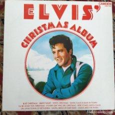 Discos de vinilo: ELVIS PRESLEY - ELVIS' CHRISTMAS ALBUM (LP, ALBUM) (1970/UK). Lote 253606810